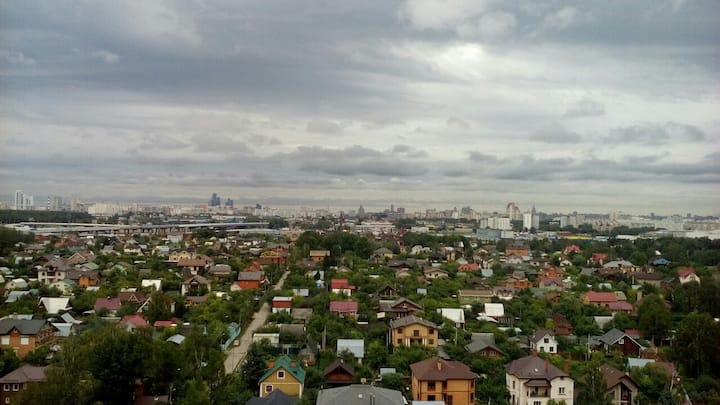 The best view of Moscow