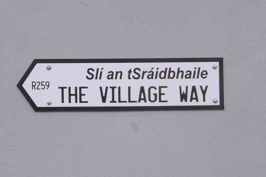 Apartments are well signposted