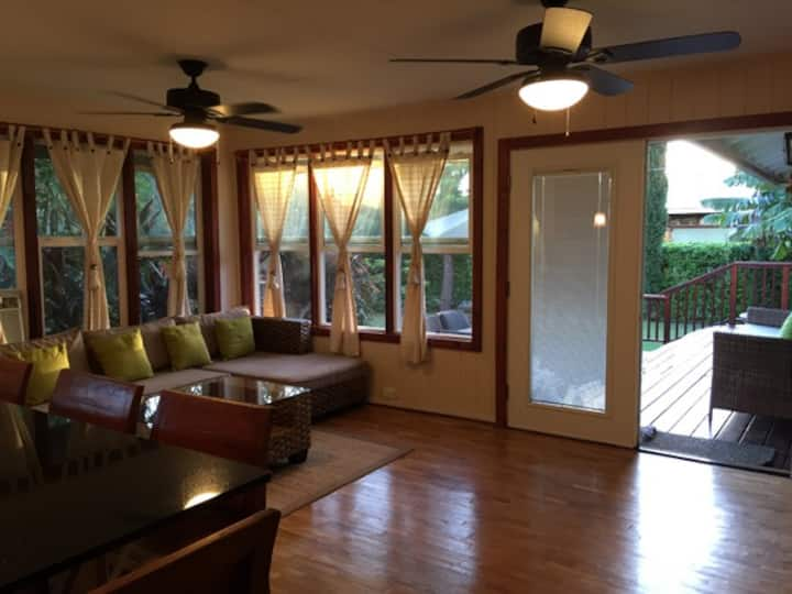 Zen Villa Haleiwa,Green house 3bed/3bath!Monthly!