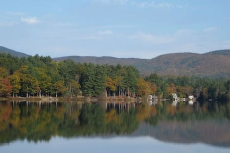 New Hampshire 4-season Lake Home - Gilmanton