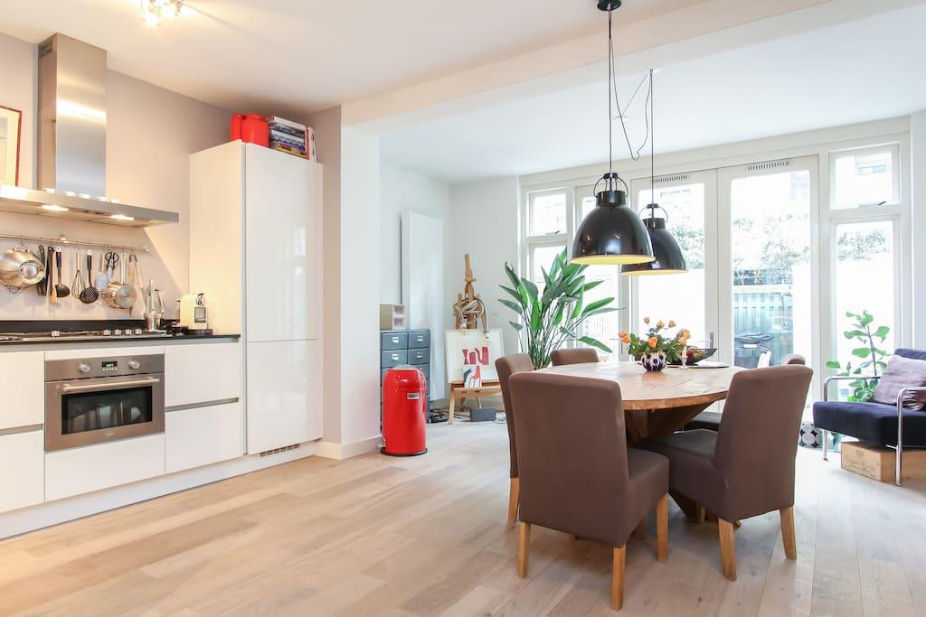 Trendy renovated 2 floor apprt baby proof appartamenti for Appartamenti in affitto amsterdam