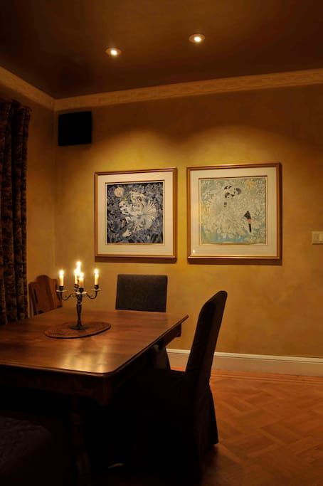 Dining Room at night