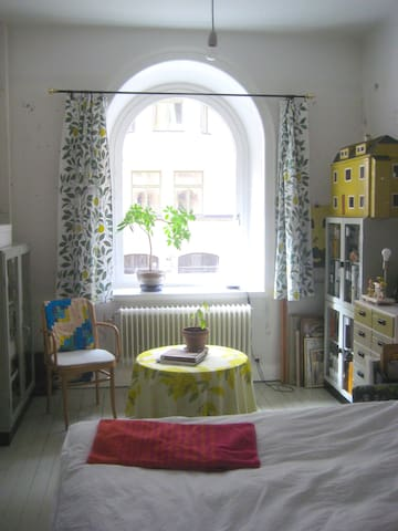 Charming room in central apartment