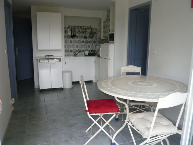 APPARTEMENT-GITE jardin et piscine - Villepinte - Wohnung