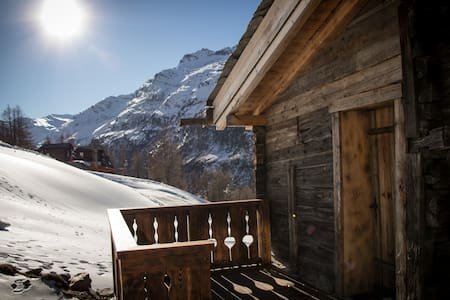 Chalet Furggstalden - Ski In, Ski Out Property - Saas-Almagell - Daire