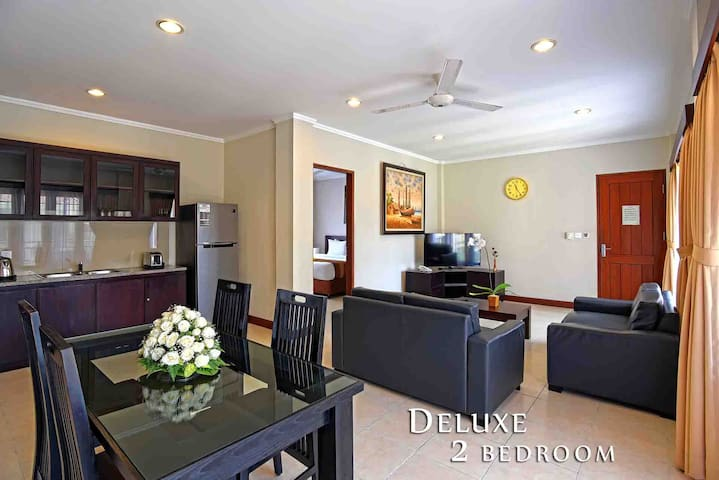 ELEGANT DELUXE 2BEDROOM @HEART OF KUTA