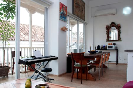 Beautiful loft in the old city - Cartagena