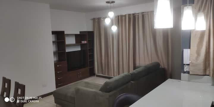 Apartamento de 3 habitaciones totalmente equipado