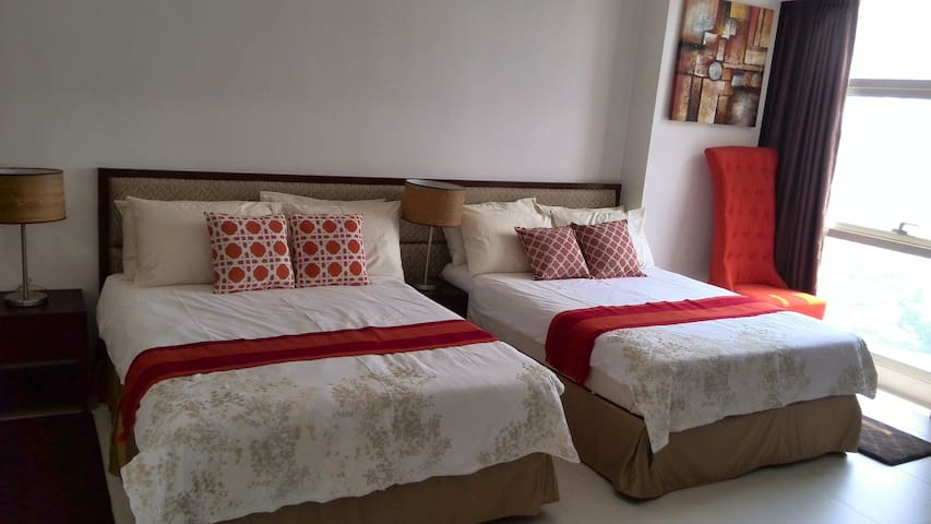 1 BR 63 SQM Unit For Rent at Greenfield District - Mandaluyong - Wohnung