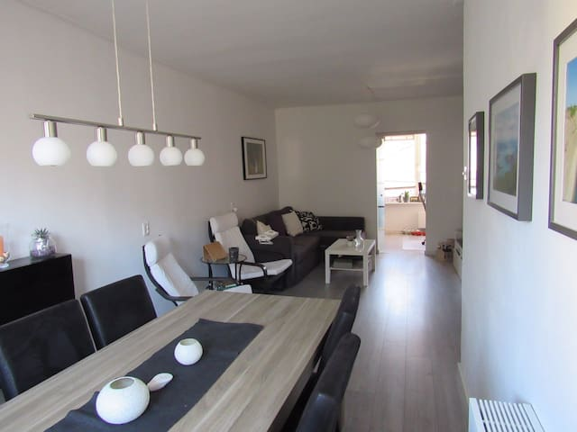 Spacious & cosy two bedroom appartement