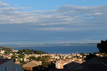 T2 vue mer calme, proche port plage - Carqueiranne - Apartamento