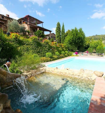Chianti Private Villa with Pools and Spa