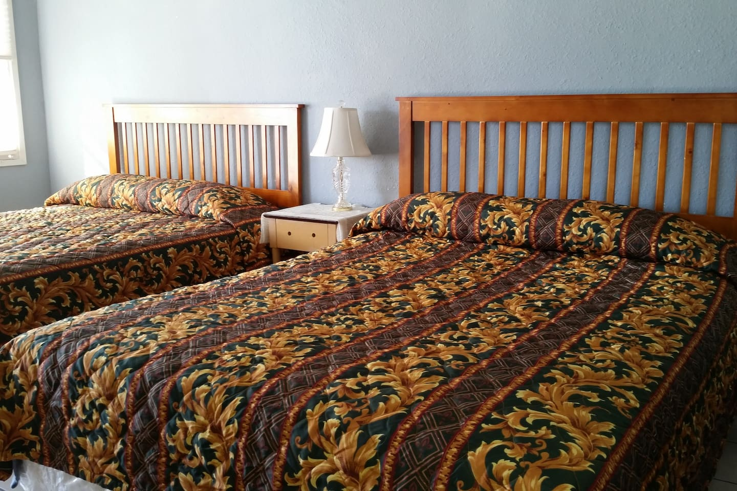 Two cozy queen size beds