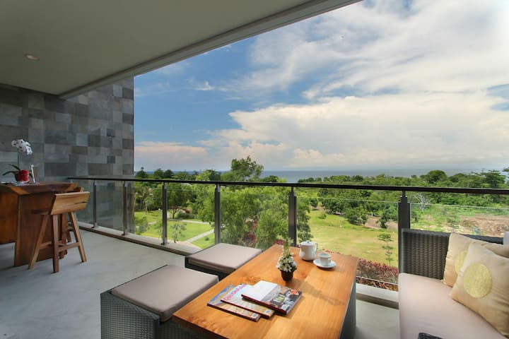Ocean View 3BR at Ayana Residence
