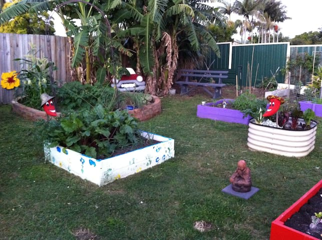 Home-stay on an Urban Farm