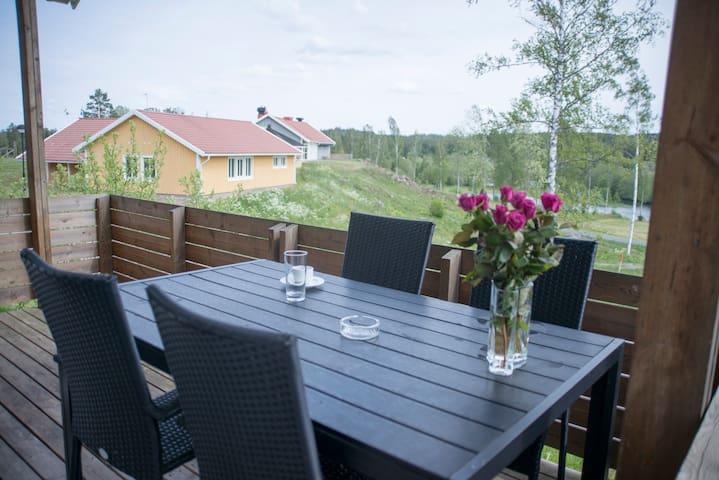 Beautiful cottage with stunning lake view