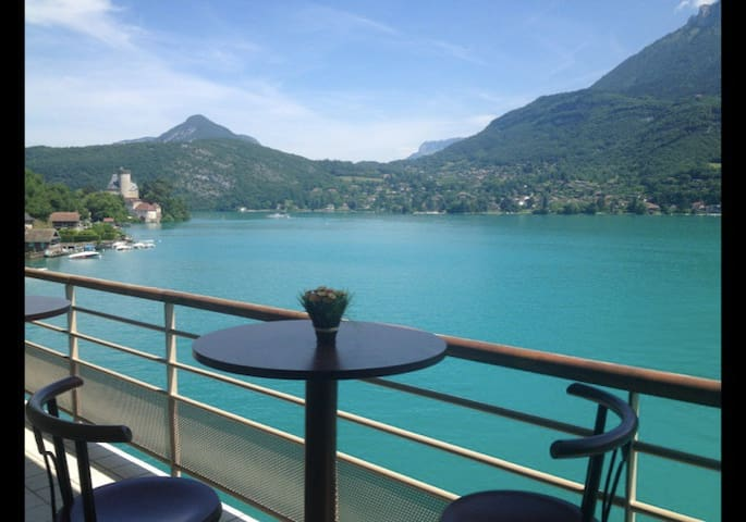 ANNECY : Amazing apt ON the Lake 6p - Duingt - Apartment