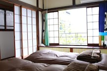 2nd floor Japanese style bed
