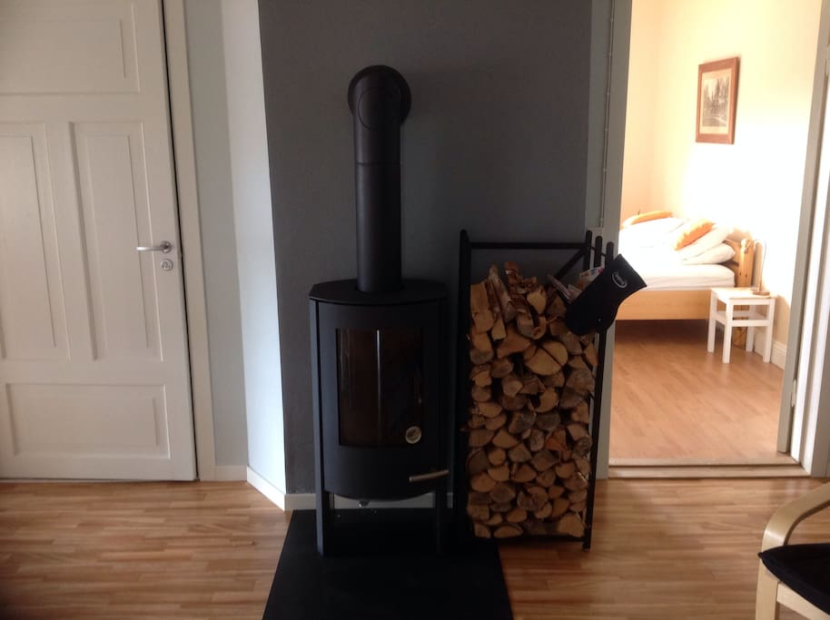Cosy logburner, perfect for relaxed evenings in!