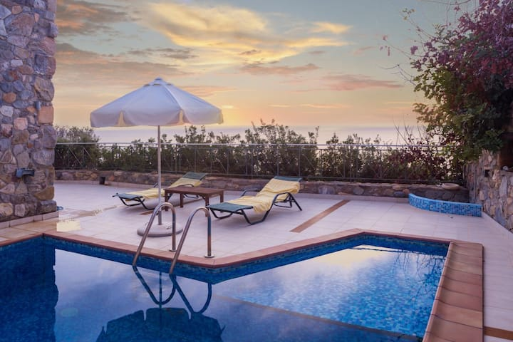 Villa Meliti private pool - 13 min from Elafonisi