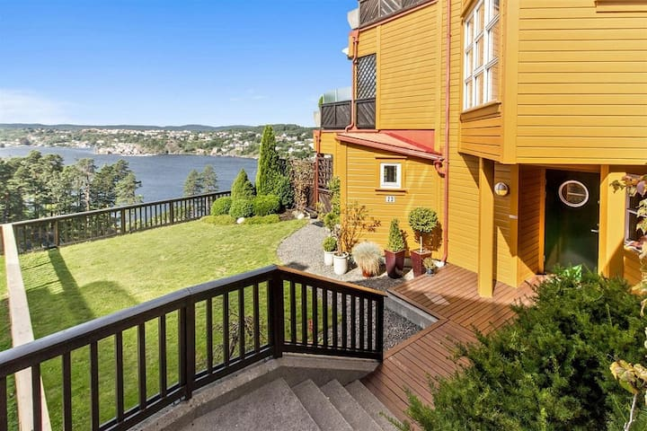 Summer in Southern Norway, great view, lots of sun - Arendal - Flat