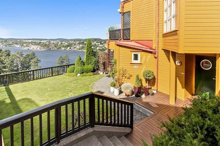 Summer in Southern Norway, great view, lots of sun - Arendal - Huoneisto
