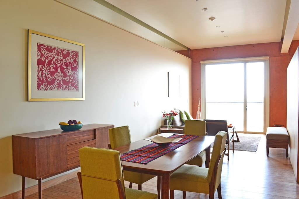 Dining Room and Living Room. Right angle
