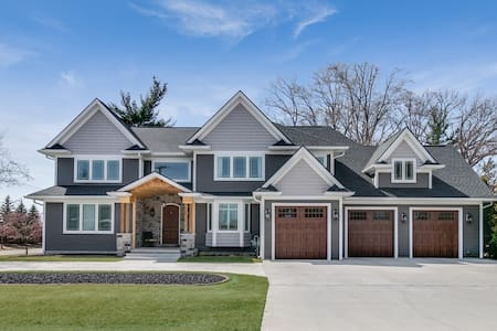 Custom Newly Built Large Luxurious Plymouth Home
