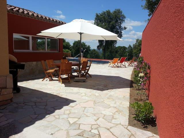 Villa de charme grande piscine 8p+1 - Santa Cristina d'Aro - Vila