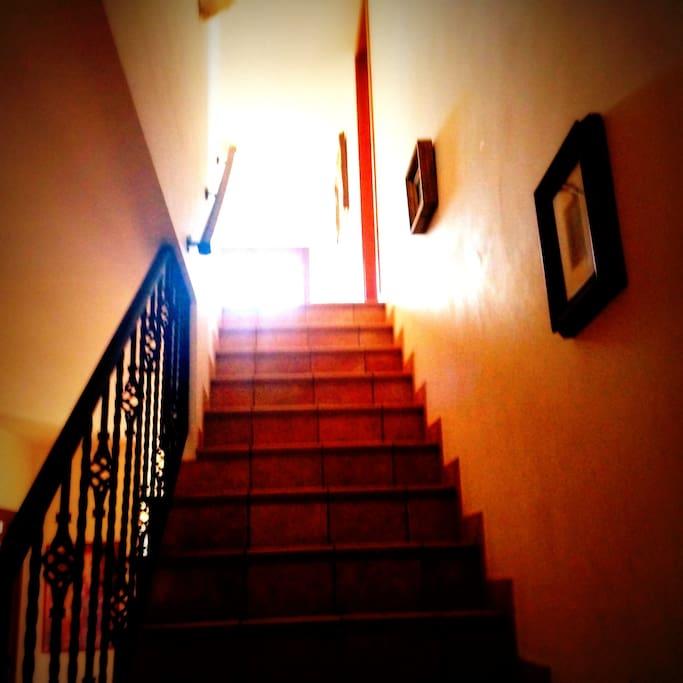 Scala per salire al secondo livello
