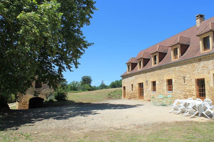 Ferme du Bos, maison de famille proche rivière