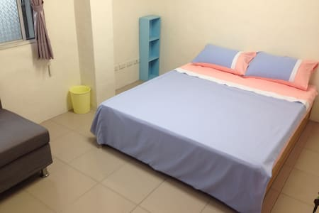 Old Flat Near Taichung HSR - Wuri District - Apartment