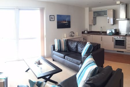 Beach Front Apartment in the Perfect location - Swansea