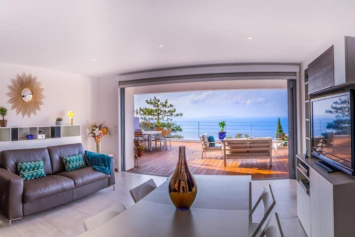 Apartamento-Exclusivo-Vista al Mar-Baño con bañera-Studio + chambre