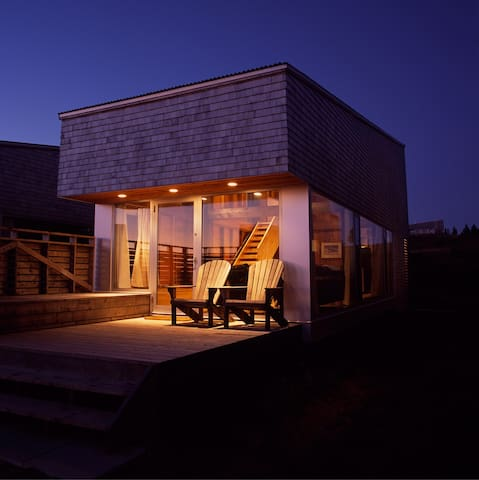 Seaside Architecture at Shobac Farm: Gaff Cottage