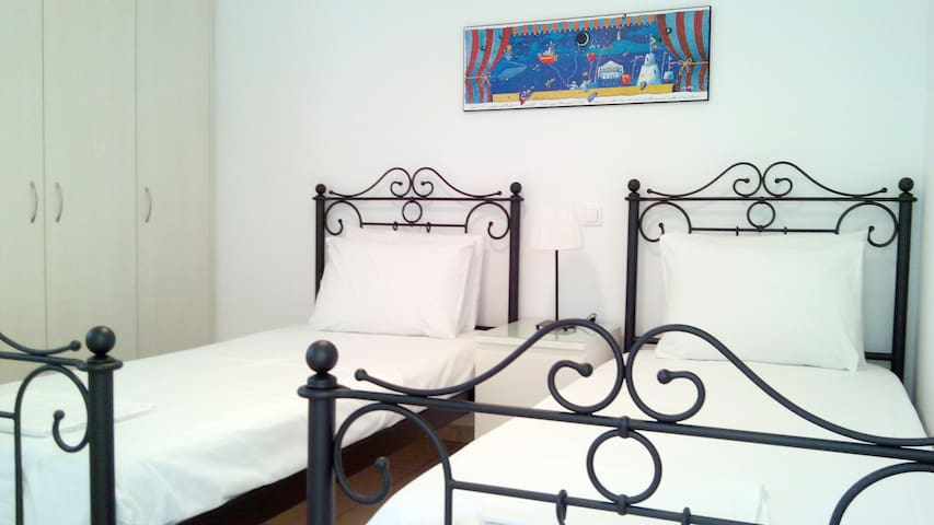 Andros Luxury House (4adults SeaView) - Κυπρί - Daire