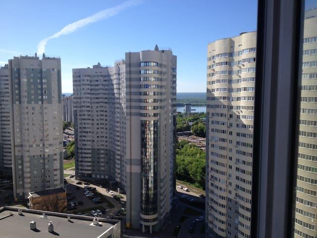 Квартира в центре города, новостройка
