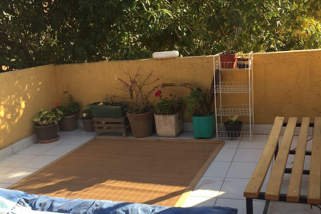 Tiene una terraza que hace tu estancia diferente!