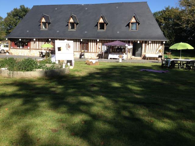 pressoir de lislebec - Saint-Sylvestre-de-Cormeilles - Earth House