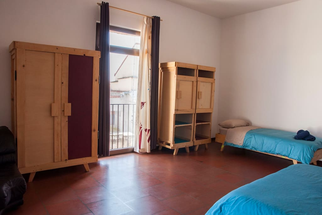 Double/Triple room  one double bed & one single bed