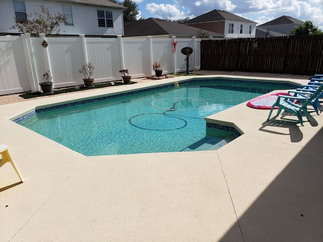 Our Gulf Coast Home with a Pool