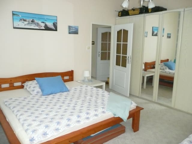 Large apartment price for 2 persons quiet house