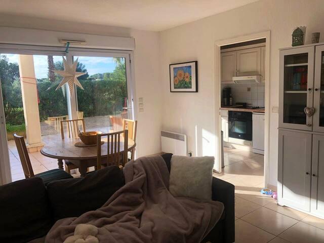 Appartement avec Terrasse au soleil et garage