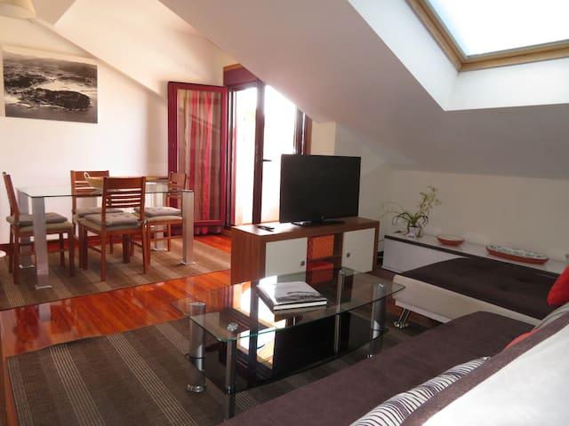Apart 52 m2 en Sabaris-Baiona, 0,6 Km de la Playa