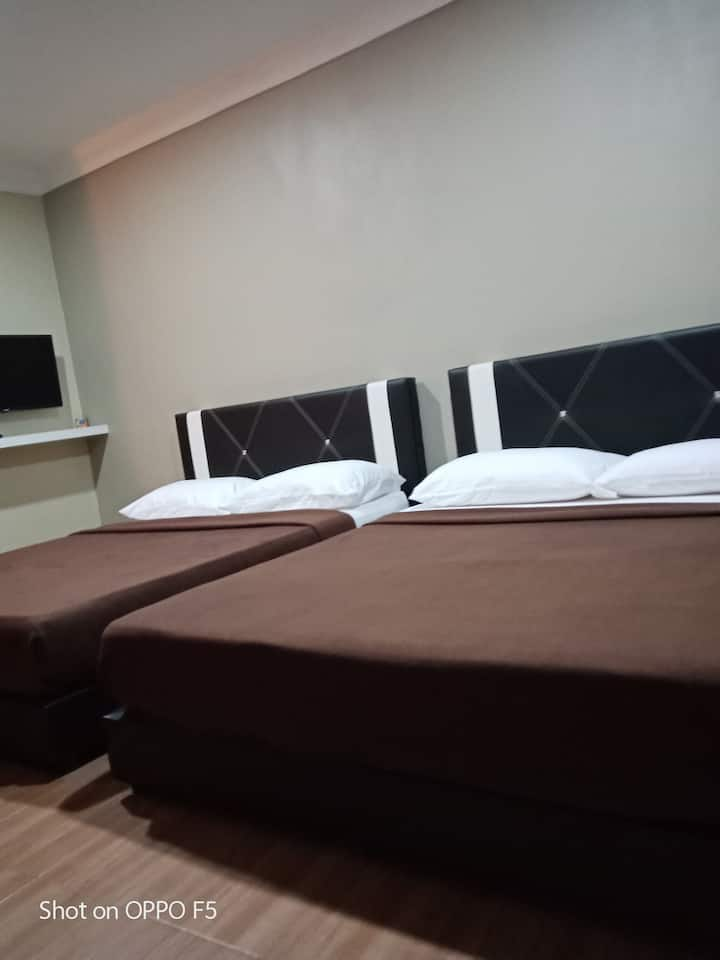 TY Inap Homestay 4(Private Room) 2 Queen  bed
