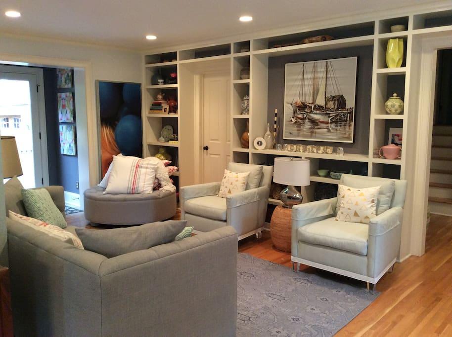 Living area- main floor