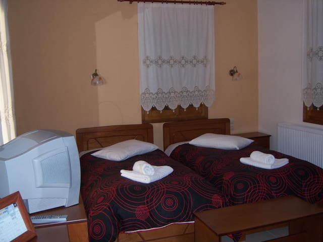 Double or Twin Hotel Room with view in Portaria