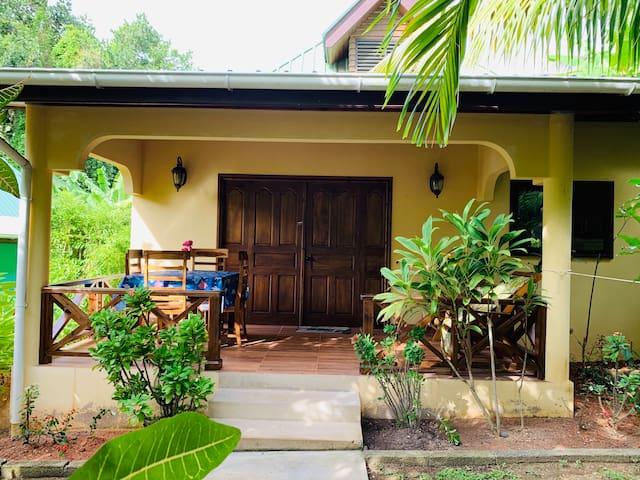 Private house next to dream beach