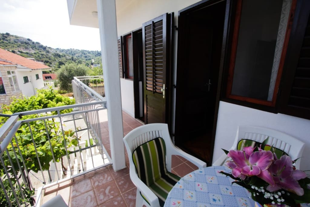 Balkón u apartmánu
