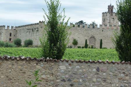 Villetta a Schiera fronte Castello di Passirano - Dosso